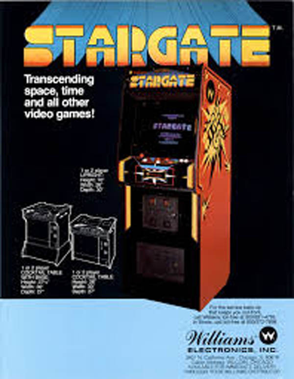 Stargate (video Game) Video Game Back Title by WonderClub