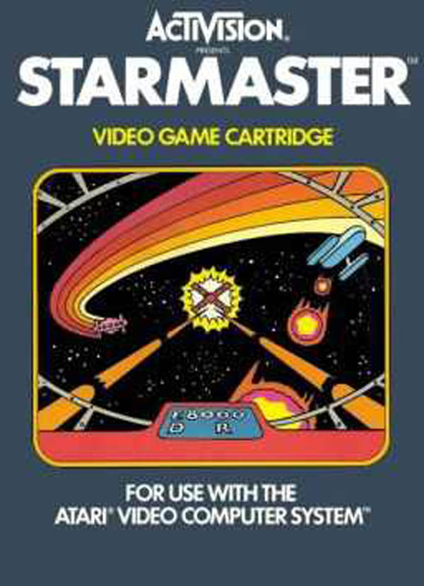 Starmaster Video Game Back Title by WonderClub