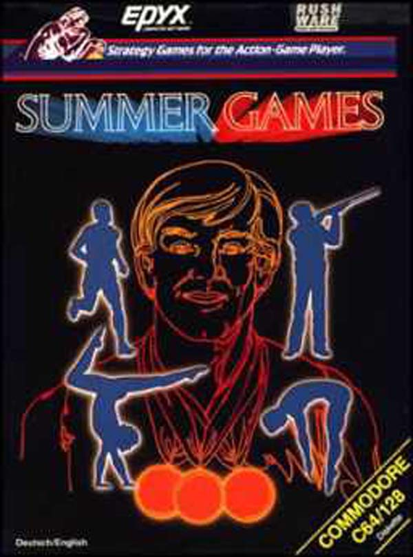 Summer Games Video Game Back Title by WonderClub