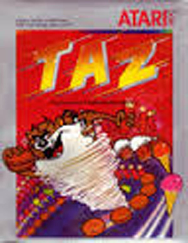 Taz (video Game) Video Game Back Title by WonderClub