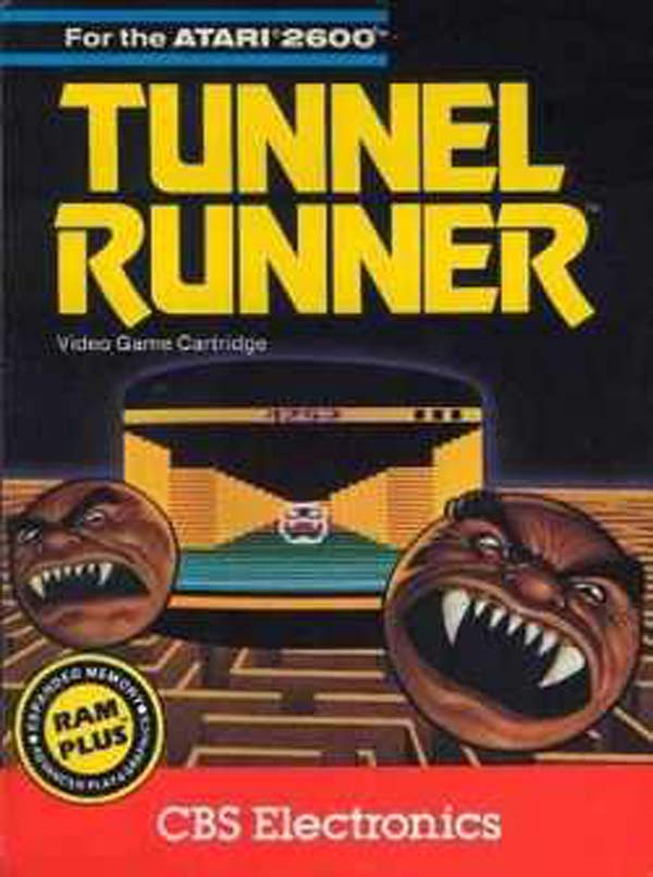 Tunnel Runner Video Game Back Title by WonderClub