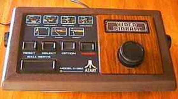 Video Pinball Video Game Back Title by WonderClub