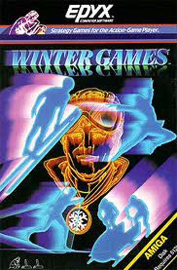 Winter Games Video Game Back Title by WonderClub