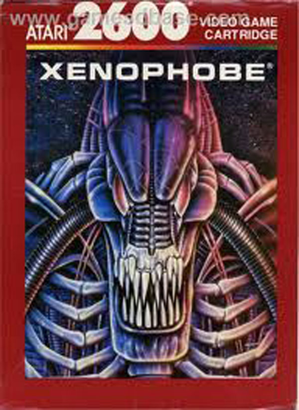 Xenophobe (video Game) Video Game Back Title by WonderClub