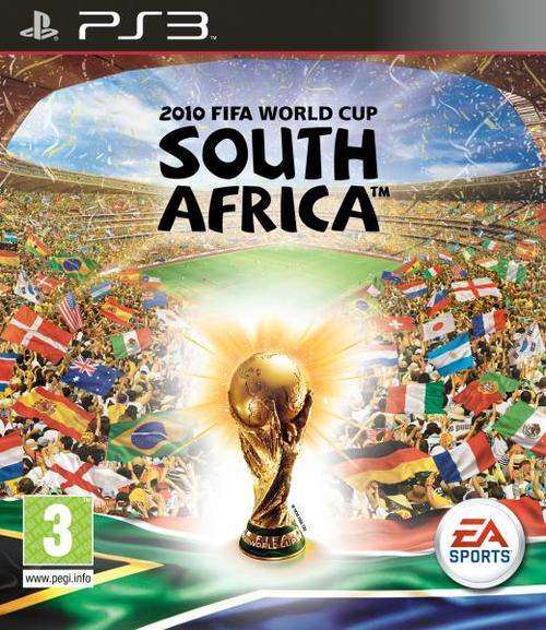 2010 FIFA World Cup South Africa  Video Game Back Title by WonderClub