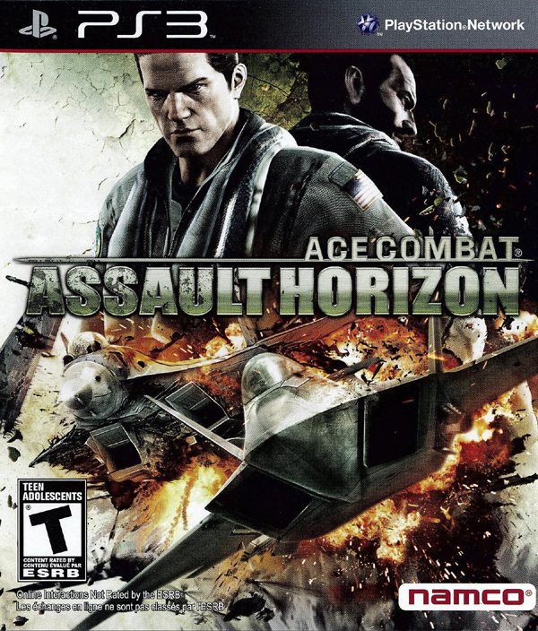 Ace Combat: Assault Horizon Video Game Back Title by WonderClub