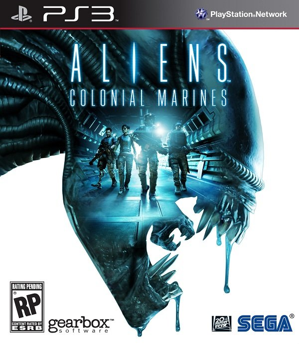 Aliens: Colonial Marines Video Game Back Title by WonderClub