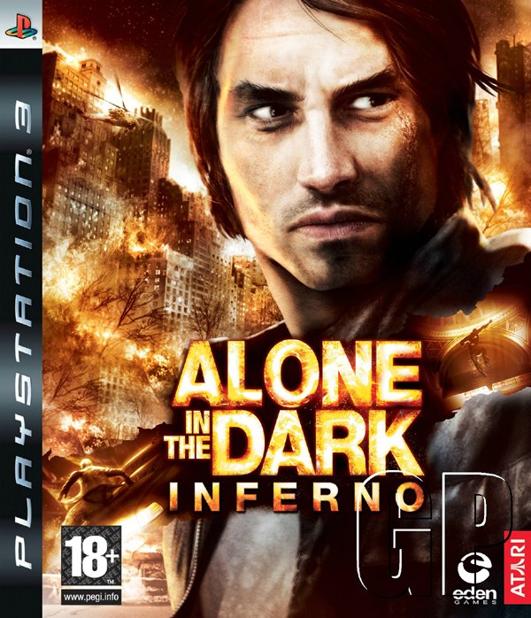 Alone In The Dark: Inferno Video Game Back Title by WonderClub