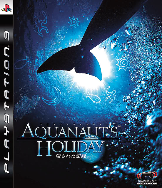 Aquanaut's Holiday: Hidden Memories Video Game Back Title by WonderClub