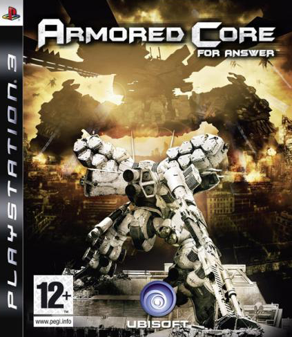 Armored Core: For Answer Video Game Back Title by WonderClub