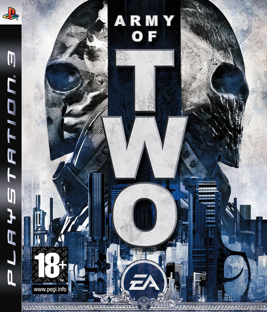 Army Of Two Video Game Back Title by WonderClub