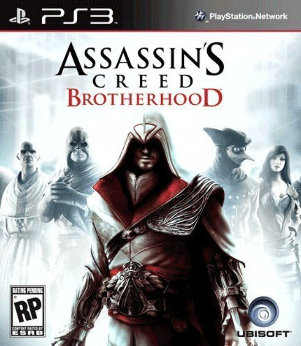 Assassin's Creed: Brotherhood Video Game Back Title by WonderClub