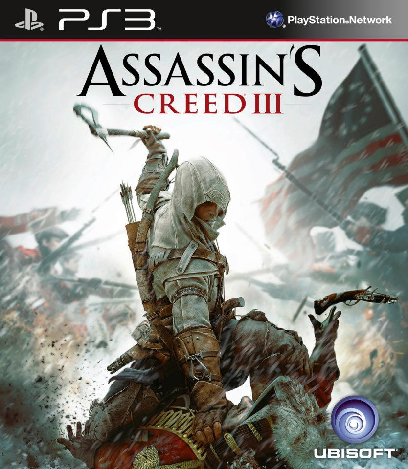 Assassin's Creed III Video Game Back Title by WonderClub