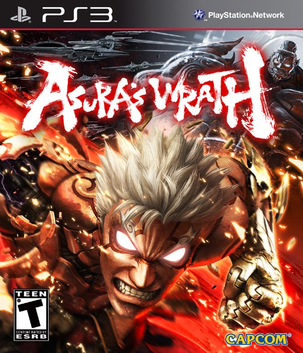Asura's Wrath Video Game Back Title by WonderClub
