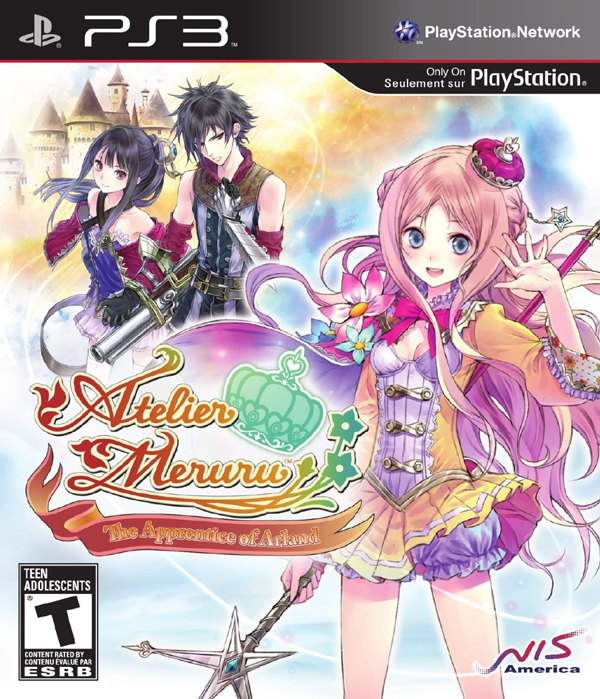 Atelier Meruru: The Apprentice Of Arland Video Game Back Title by WonderClub