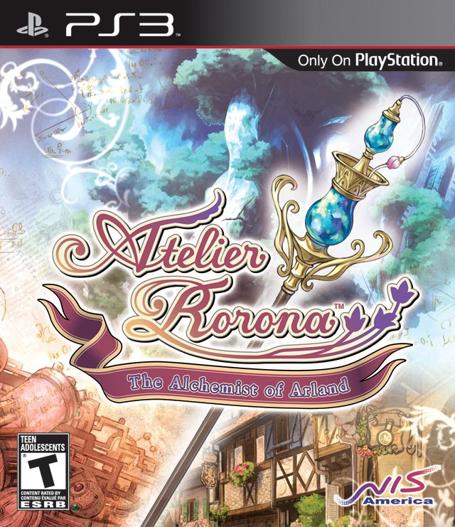 Atelier Rorona: Alchemist Of Arland Video Game Back Title by WonderClub