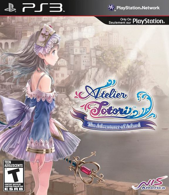 Atelier Totori: The Adventurer Of Arland Video Game Back Title by WonderClub