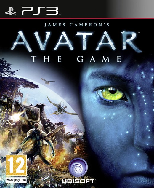 Avatar: The Game Video Game Back Title by WonderClub