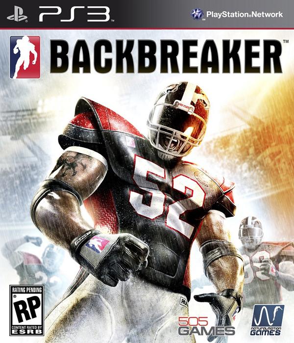 Backbreaker Video Game Back Title by WonderClub