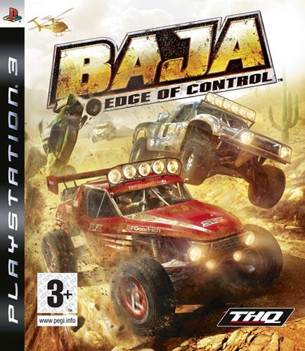 Baja: Edge Of Control Video Game Back Title by WonderClub