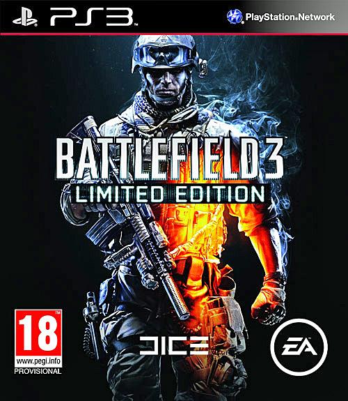 Battlefield 3 Video Game Back Title by WonderClub