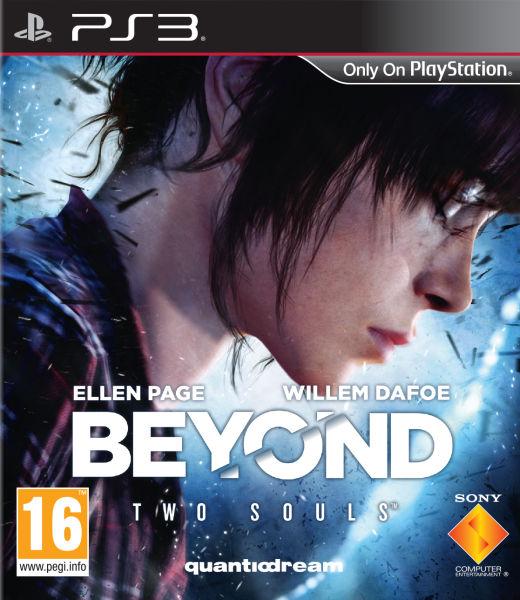 Beyond: Two Souls Video Game Back Title by WonderClub