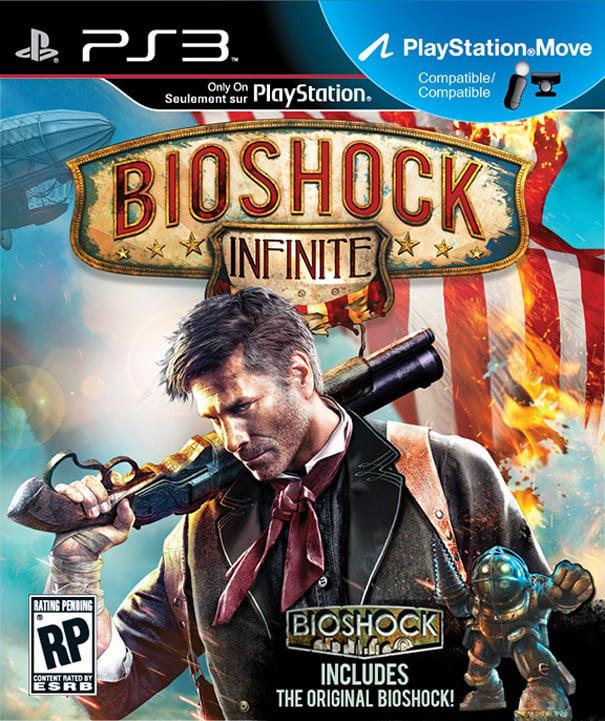 BioShock Infinite Video Game Back Title by WonderClub