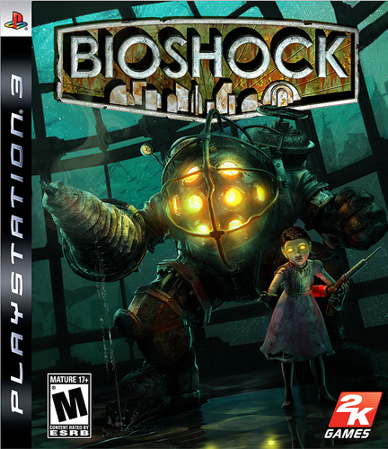 BioShock Video Game Back Title by WonderClub