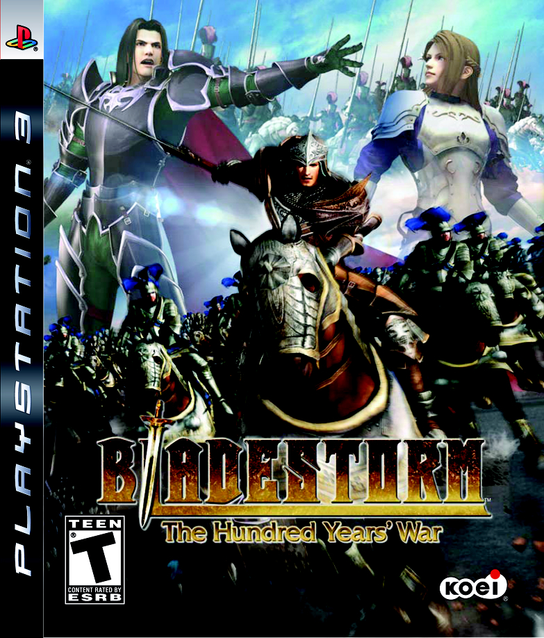 Bladestorm: The Hundred Years' War Video Game Back Title by WonderClub