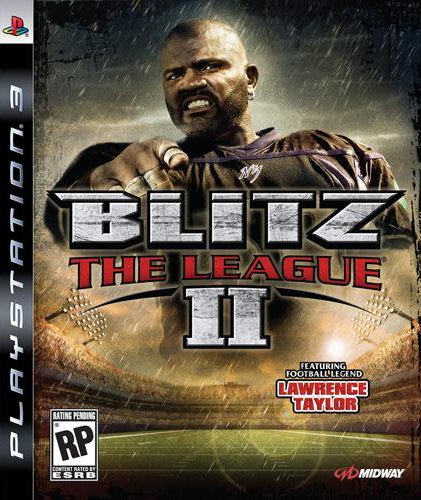 Blitz: The League II Video Game Back Title by WonderClub