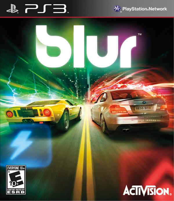 Blur Video Game Back Title by WonderClub