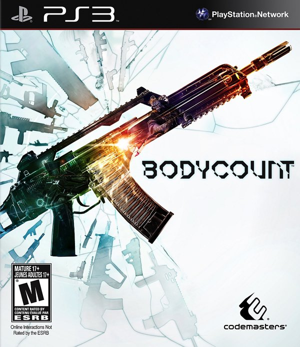 Bodycount Video Game Back Title by WonderClub