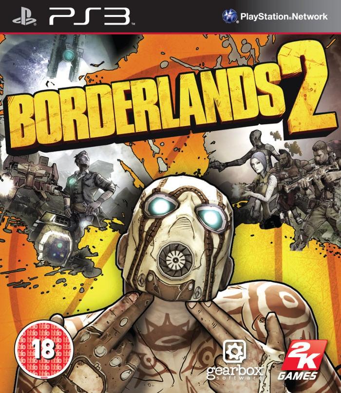Borderlands 2 Video Game Back Title by WonderClub