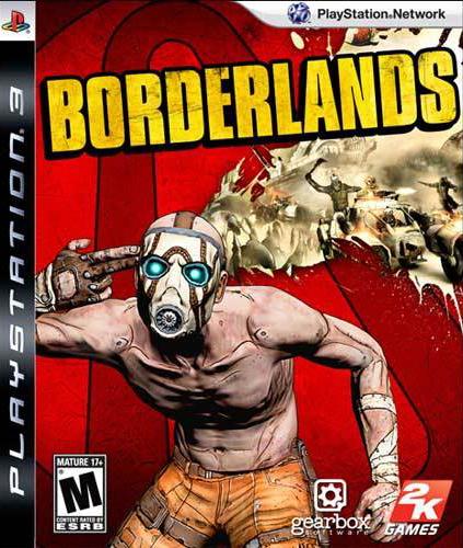 Borderlands Video Game Back Title by WonderClub