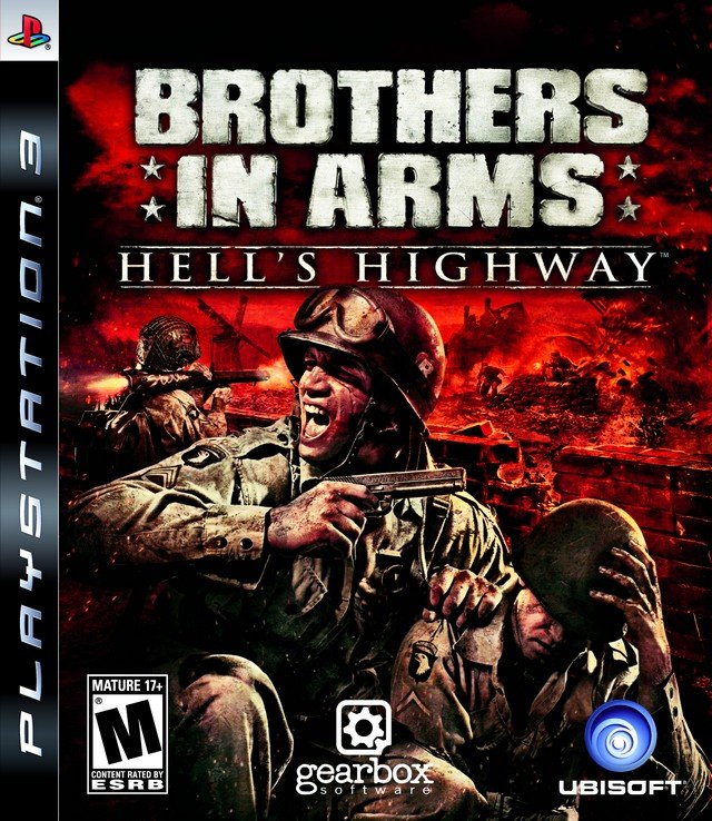 Brothers In Arms: Hell's Highway Video Game Back Title by WonderClub