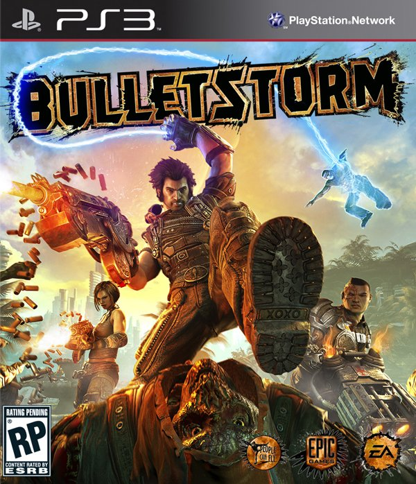 Bulletstorm Video Game Back Title by WonderClub