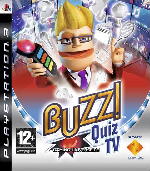 Buzz!: Quiz TV Video Game Back Title by WonderClub