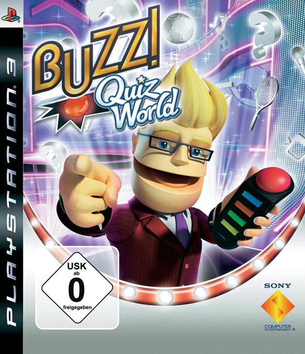 Buzz!: Quiz World Video Game Back Title by WonderClub