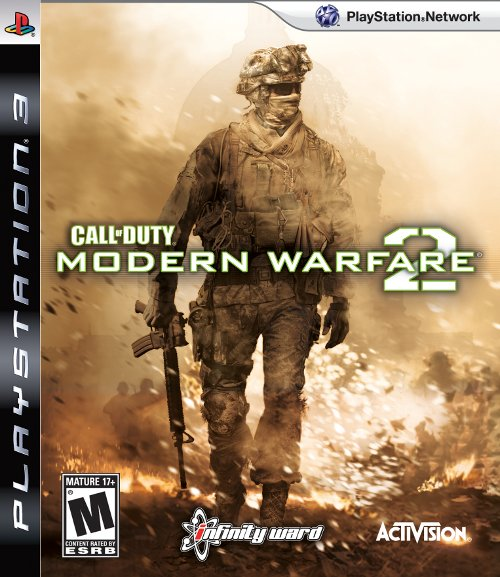 Call Of Duty: Modern Warfare 2 Video Game Back Title by WonderClub