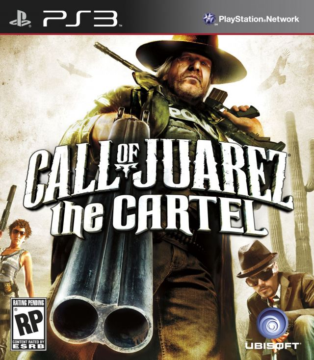 Call Of Juarez: The Cartel Video Game Back Title by WonderClub