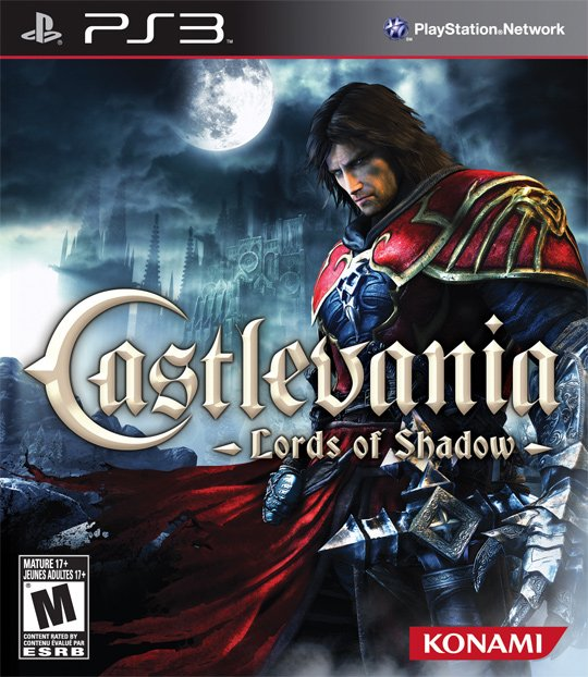 Castlevania: Lords Of Shadow Video Game Back Title by WonderClub