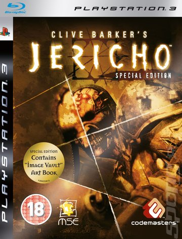 Clive Barker's Jericho Video Game Back Title by WonderClub