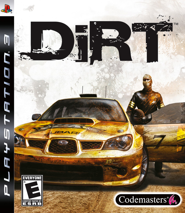 Colin McRae: Dirt Video Game Back Title by WonderClub