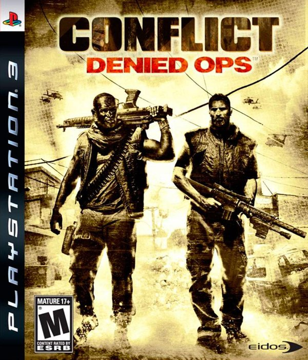 Conflict: Denied Ops Video Game Back Title by WonderClub