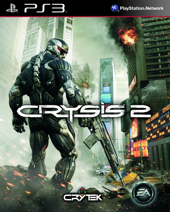 Crysis 2 Video Game Back Title by WonderClub
