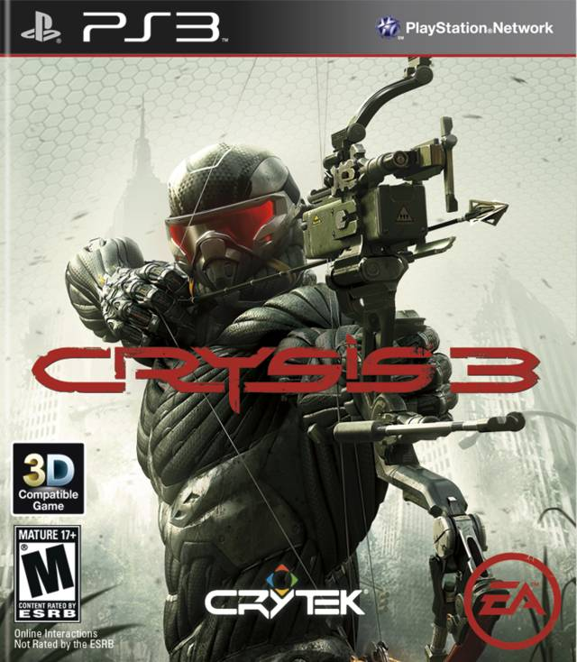 Crysis 3 Video Game Back Title by WonderClub