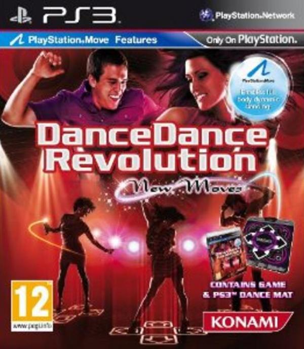 Dance Dance Revolution Video Game Back Title by WonderClub