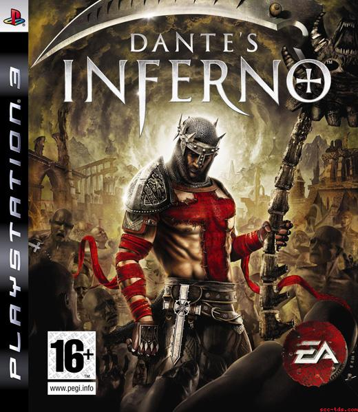 Dante's Inferno Video Game Back Title by WonderClub