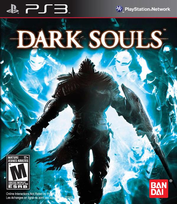Dark Souls Video Game Back Title by WonderClub