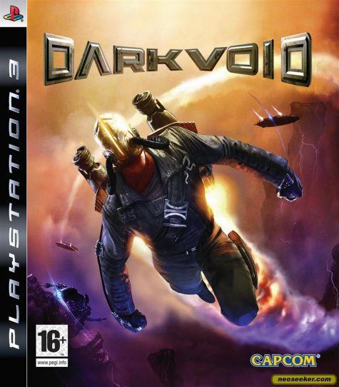 Dark Void Video Game Back Title by WonderClub